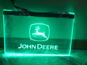 Wholesale 1 g John Deere LED Neon Light Sign Decor Dropshipping colors to choose