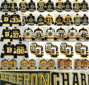 2019-2020 Third Black Alternate Boston Bruins Hockey 4 Bobby Orr Zdeno Chara 37 Patrice 46 Krejci David 88 Pastrnak 40 Tuukka Rask Jerseys on Sale