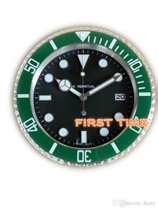 Home Decor wall clock modern design high quality brand new stainless steel luminous face calendars FT-UB004