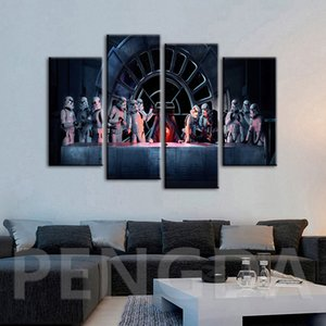 Wholesale Modern Picture Print Movie Wall Art Canvas Painting Scifi Home Decor Poster Cuadros For Living Room Modular Frames