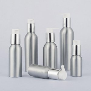 Wholesale 35 ml ml Aluminum Bottle Storage Lotion Sanitizer Liquid UV Pump Container Refillable Bottles Easy to Clean