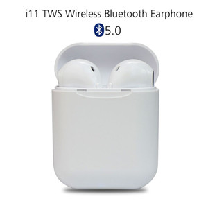 Newest i11 tws Wireless Earphone 5.0 Bluetooth Headphone Air Mini Earphones Headset for iPhone X iPad Apple Watch Samsung Pods