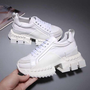 TOP-Quality New Luxury sneakers Brand Shoes Cloudbust Causal Shoe men Women Magic Tie Slip Platform Shoes Casual Walking Tennis Shoes 22