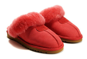 Wholesale 2020 HOT SALE High quality WGG Warm cotton slippers Men And Womens slippers Women s Boots Snow Boots Designer Indoor Cotton slippers