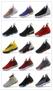 2019 New Arrival James XVI 16 Harlem's Popular Row Basketball Shoes High Quality Mens Trainers 16s HFR Casual Sports Sneakers Size 40-47