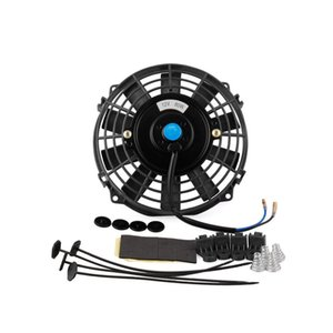 Wholesale 7 inch V W Car Slim Radiator Cooling Thermo Electric Fan Mounting kit
