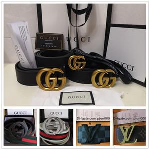 be7402f045f1 Wholesale 2018 Belt high quality men's genuine leather belt designer G  buckle belts men luxury belts