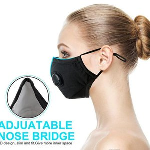 Wholesale Face Masks Anti Dust Smoke Gas Adjustable Reusable N95 Filters Mask Protection with Filters for Women Man pm2 instock