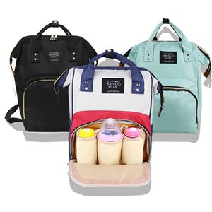 Outdoor Diaper Mom Nurse Backpack Mom Travel Bag Zipper Baby Care Bag