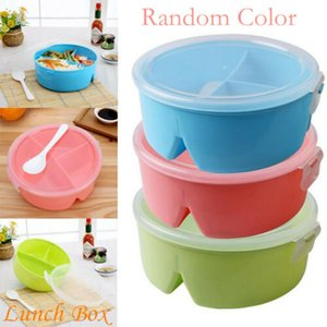 Wholesale Microwave Bento Lunch Box Picnic Food Fruit Container Storage Box for Kids