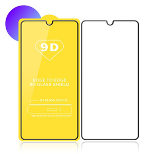 Wholesale Full Cover D D Tempered Glass Screen Protector AB Glue FOR HUAWEI P20 LITE P20 PRO MATE honor I NO Retail package
