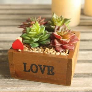 Wholesale Cute lotus Artificial succulent plant Flower branch for Birthday Wedding Party home Decor craft DIY favor baby shower etc Wh