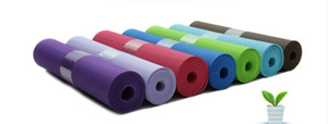 Wholesale Printed Environmental yoga mats TPE non slip sport mats Fashion thickened 4mm yoga mat Fitness floor mat Outdoor yoga mat healthy many color