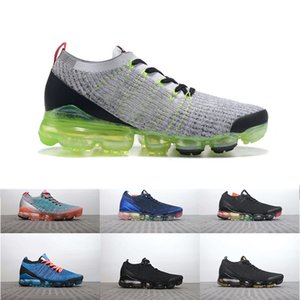 Wholesale 2019 Utility Blue Neon Cushion Running Shoes Women Mens Trainers Triple Black Green Canyon Purple Sports Designer Shoes Size