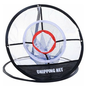 Golf UP Indoor Outdoor Chipping Pitching Cages Mats Practice Easy Net Golf Training Aids Metal + Net
