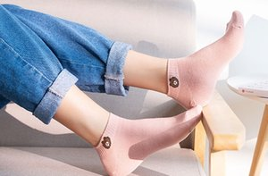 Wholesale Women s bear socks short socks shallow mouth cute cotton boat socks summer thin Korean style style trend