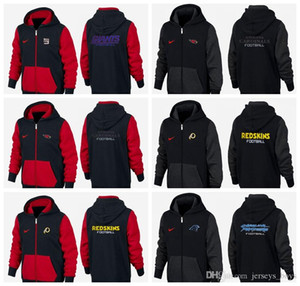 Wholesale New Type Guard Clothes of black and red New York Arizona Oakland Carolina Raiders Cardinals Giants Panthers hoodie Sweater