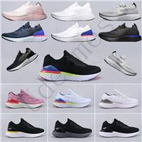 2019 Epic React V2 S0UTH Men and women Knit Flying Breathable Mesh White Running Shoes High Elastic Technology Bubble Buffer Sneakers