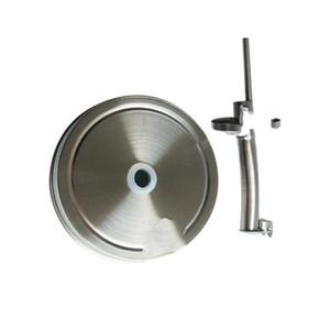 70mm Mason Jar Lid Stainless Steel Leak Prevention Sauce Bottle Cap Kitchen Accessories Hot Sale 5 2yt UU
