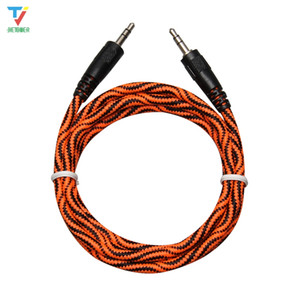 Wholesale good mp3 players for sale - Group buy 300pcs m Python Snake skin Heavy thick audio cable Extension Hi Fi Headphone Jack Cable for MP3 MP4 Player Car good qty