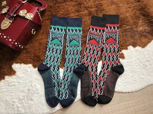 New Designer Cotton Socks stockings for Women Luxury Ladies Brand Vintage Long Knee Sock Stocking Gifts Factory Sale S997