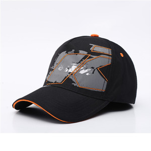 Ktm Fleet Family Marseille Vehicle Hats Vr46 Peaked Cap Motorcycle Hat Outdoor Sport Baseball Hat