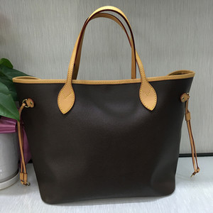 Wholesale designer handbags classical hot sale style Naverfull genuine cow high leather top quality luxury tote clutch shoulder shopping bag