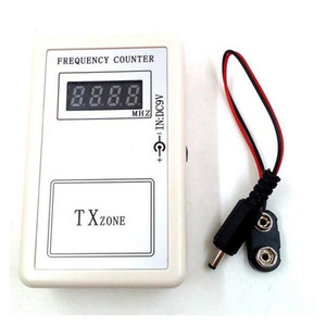 Wholesale CKS pc Frequency Tester Wireless Frequency Meter Counter for Car Auto Key Remote Control Detector Cymometer Power Supply Cable