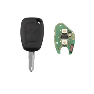 Wholesale renault key fobs resale online - 2Buttons Mhz Chip PCF7946 Complete Remote Key for Renault Vivaro Movano Traffic Master NE73 Blade Remote Key FOB