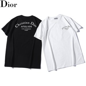 Wholesale 2019 New NO DIOR Men Clothing Summer Mens T shirts Fashion Letters Printed Tee Cool Short Sleeved Man