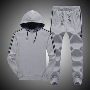 Wholesale Cross Border for Autumn Long Sleeve Hooded Hoodie Set Men s Korean style Style Pants Casual Sports Two Piece Set Men S Wear