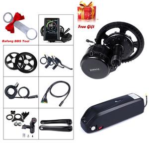 8fun BBS02 BBS02B Bafang 48V 750W Mid Drive kit Motor Electric Bicycle Conversion Kit 48V 12Ah Bike Battery Samsung Cell