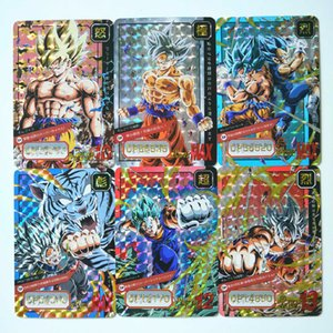 Wholesale 24pcs set Super Dragon Ball Z Fine Limited Card Heroes Battle Ultra Instinct Goku Vegeta Game Collection Cards T191021