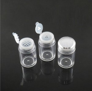 10ml Loose Powder Container Jar Clear Plastic Glitter container Cosmetic Powder Eye Shadow Box Bottles With Sifter and Lids