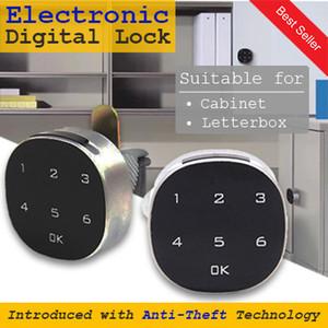 Digital Premium Electronic HDB Keyless Mail Letter BoxLock Keyless Cabinet Lock