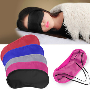Wholesale Travel Sleep Rest Sleeping Aid Mask Eye Shade Cover Comfort Blindfold Shield Hot