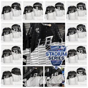 Wholesale Los Angeles Kings 2020 Stadium Series Jersey Anze Kopitar Drew Doughty Tyler Toffoli Dustin Brown Jeff Carter Alex Iafallo Ilya Kovalchuk
