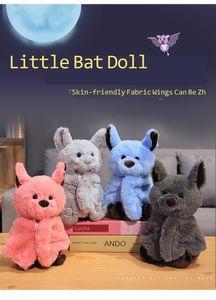 Creative Cartoon Bat Plush Toy Dark Elf Cute Bat Baby Soft Personality With Sleep Storytelling Plush Toy Gift For Children 2019 CJ191212
