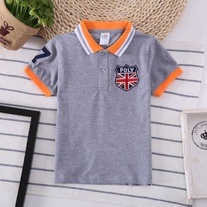 Wholesale 2019 Polo Kids Shirt Boys Tops Fashion Children Wear BOY S T shirt
