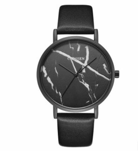 Quartz Watches New women's marble line ultra-thin leather ladies quartz watch luxury watch top brand tactical watch