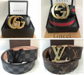 Wholesale Famous Genuine Leather Men Belt Designer Luxury High Quality Mens Belts For Women Jeans Cow Strap Waistband size g6