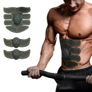 Wholesale bdominal trainer Body Massager Abdominal Muscle trainer Slim EMS Stimulation Muscle Stimulator Arm Leg Exercise Belt Power fit Vibration
