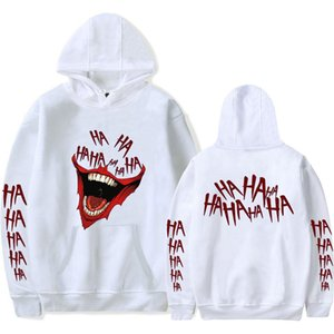 Wholesale Haha Joker New Design Printed Winter autumn Warm Hooded Sweatshirt for Women Men Software Hot Sale Hoodies Sweatshirt Max XL