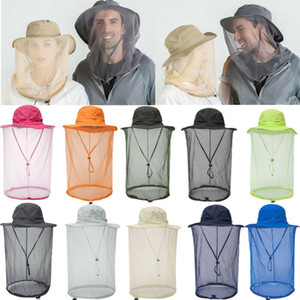 chapeaux safari achat en gros de-news_sitemap_homeL arrivée de nouveaux Hommes Femmes Outdoor Safari Hat Protection Net filet à partir d insectes Mosquito Bee moucherons Vêtements de protection Accessoires