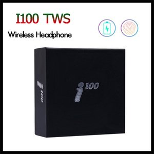 Wholesale i100 TWS Bluetooth Earphone with Pop up Window After Open Cap Support Wireless Charging High Quality Earbuds Headset