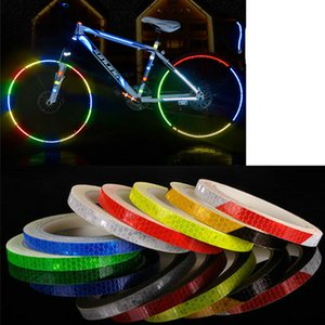 Wholesale Vehemo for Reflective Tape Pvc DIY Stickers Rim Luminous Reflection Auto Decoration Warning Decals Funny Car Body