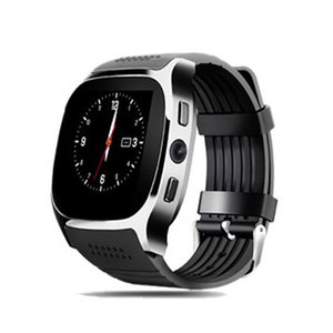 Wholesale New Smartwatch Intelligent Bluetooth Sport Smart Watch T8 Pedometer For Phone Android Wrist Watch Support SIM TF Card Call pk DZ09 U8 Q18