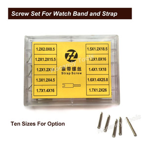 Screw Tube Rod for Metal Watch Band 50pcs 10 sizes Stainless Steel Repair Tools Watch Parts 8.5mm - 26mm Free Shipping