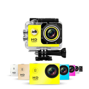 Wholesale mini dv full hd waterproof camera for sale - Group buy SJ4000 P Full HD Action Digital Sport Camera Inch Screen Under Waterproof M DV Recording Mini Sking Bicycle Photo Video Camera