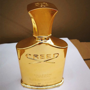 Wholesale Creed Imperial Millesime Perfume Men s Cologne ml durable good smell good quality golden bottle men s spray